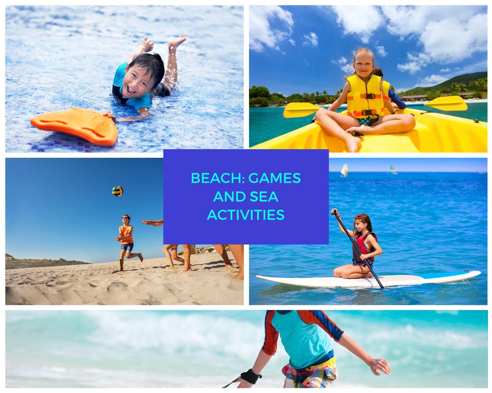 Beach: Games and sea activities | Metropolis Museum |